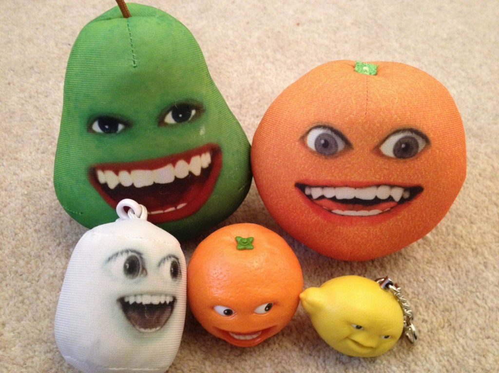 annoying orange toys pear - photo #22