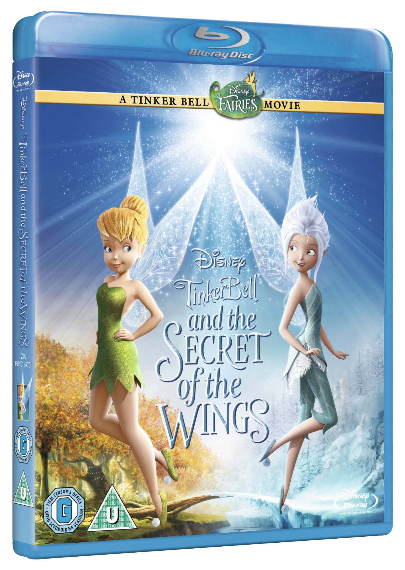 Tinkerbell in the secret wings necklace