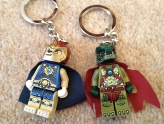 Lego Legends of Chima Keyrings